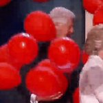 Best moments of Bills life: 1. Chelsea born 2. Hillary nominated 3. Balloons https://t.co/v90X0DENyM