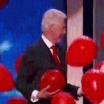 The next time #BillClinton tries to talk about US #Muslims we should just distract him with balloons. #DemsInPhilly https://t.co/tcEhkarXyS