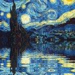 """""""Cuando siento necesidad de religión, salgo de noche y pinto las estrellas.""""  Vincent Van Gogh.  Aniv. Luctuoso 126. https://t.co/w0Q8H4jaXb"""