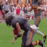 Nothing to see here...  Just @Vol_Footballs Jalen Hurd breaking out the truck stick. @Vol_Sports #SECNTakeover https://t.co/sFypv2rmGH