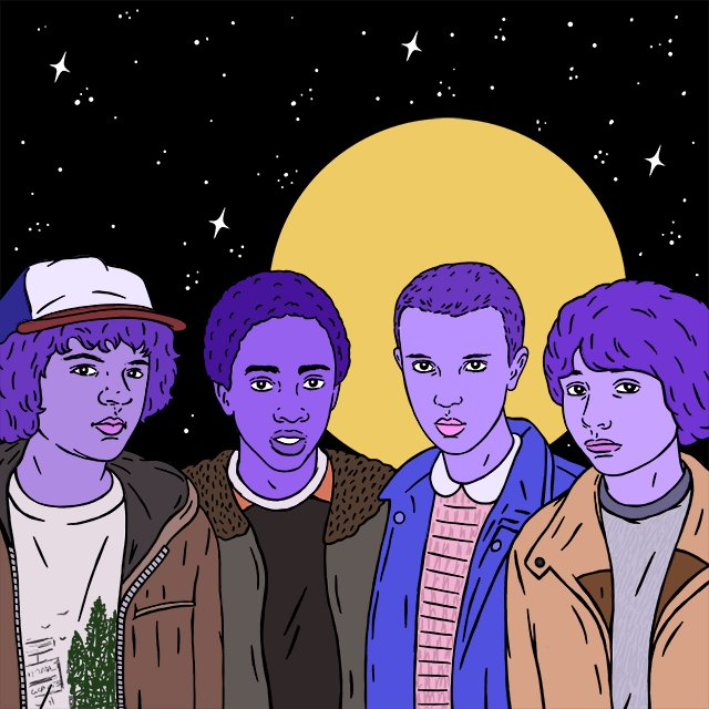 Watched all of #StrangerThings in one sitting and loved it. Whoever did the casting needs a raise. Amazing. https://t.co/Url2d9QKFd