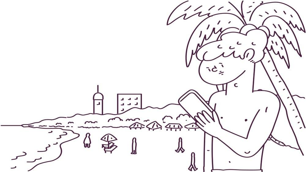 [公式クリエーター] beach de pokemon created by suzukiii3   #gifmagaz