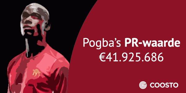 Pogba's PR-waarde laat zien waarom hij zo veel waard is https://t.co/s4oe06wNdV #POGBACK #REUNITED https://t.co/u21O2IysA0