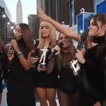 .@FifthHarmony win the first @MTV Moonman of the night. PUT IN WORK, YALL. #VMAs https://t.co/Mr4TOrTBqp https://t.co/tjOJ4RZzjw