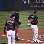 #MarioCoin — There we go!  Catcher Roberto Perez with a one-out single Kip RBI 2B down the line scores Berto  1-0! https://t.co/7zvv260wcF
