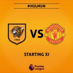 🔶◾️ | Here's the @HullCity team to face @ManUtd in tonight's @PremierLeague clash at the KCOM Stadium #HULMUN https://t.co/SSLGrOUeTU