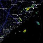 A few thundershowers across the area moving W/SW. #chswx https://t.co/PAuXC4tDN6