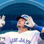 .@BringerOfRain20 showing remarkable strength to give the @BlueJays a 2-1 lead! #OurMoment https://t.co/xUmMOxA7dv