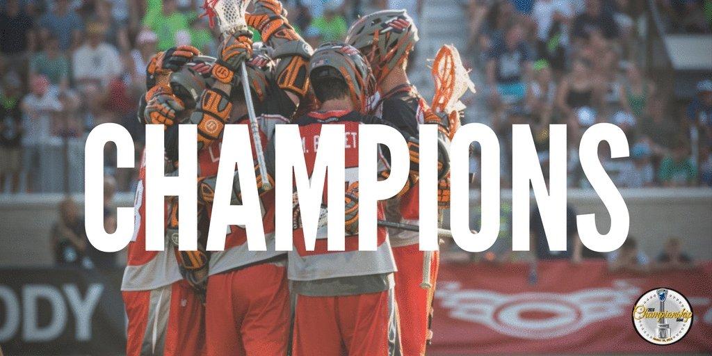 .@DenverOutlaws CHAMPIONS. #MLLChamp https://t.co/zEUYXdaSBx