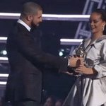 Drake told Rihanna hes been in love with her since he was 22 years old and then this hug happened #VMAs https://t.co/t5WDXgUh7i