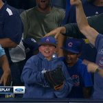 The kid who caught the Kris Bryant home run is excited, but the guy with him is Hype Man of the Year. #Cubs https://t.co/iyEEuOFjiX