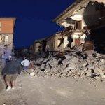 Graves daños deja terremoto de 6.2 en #Italia. La ciudad más afectada es #Amatrice https://t.co/FL9u4QsDCS