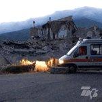 FOTOGALERÍA   Estas son las imágenes que deja el #terremoto de magnitud 6.2 en #Italia https://t.co/zIiFV4Usi6