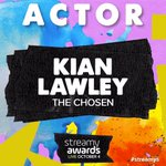Congrats on the best actor @streamys nomination, @KianLawley! Much ❤️ ❤️ from your #TheChosenMovie fam! #Streamys https://t.co/KTo4rch53u