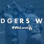 #DodgersWin! 🎶#WeLoveLA🎶 FINAL: #Dodgers 1, Giants 0 https://t.co/d0xnMTXLMq