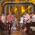 Chanyeol slipped on the floor ah cute junmyeon helped him!! #Lotto2ndWin https://t.co/ZoQGAnJMfX