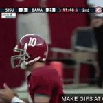 Celebrating the fact that were officially 8 days away from Alabama football with this. #Julioooo 🐘🐘🐘🐘 https://t.co/rFLjJsfPO4