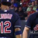 ICYMI: @TheJK_Kid had a little fun with Rougned Odor during last nights game. READ: https://t.co/tflulMYnzF https://t.co/SfKtdbhCpe