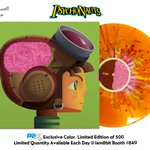Behold the Psychonauts Special Edition LP with brain splatter colored vinyl and spinny brain - 500 only, $35 at PAX! https://t.co/lIxiKYsCGo
