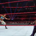 Shes right at home on the red brand! #RAW @itsBayleyWWE https://t.co/UHqjjI3Rlc