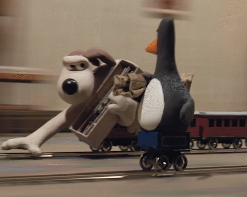 A classic #Aardman40Years moment! Watch The Wrong Trousers train chase sequence in full: https://t.co/O68Sgsx6SK https://t.co/ZUoi4XtBKu