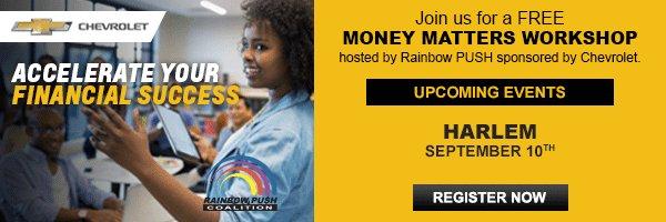 Attend @chevrolet & @RPCoalition #PUSHMoneyMatters financial workshop #ad: https://t.co/cbQkXlLJEG #FindNewRoads https://t.co/Z4giP97BJb