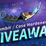 This is INSANE! We have 40k Followers Karambit | Case Hardened FT GIVEAWAY https://t.co/K2fK8YuQaE https://t.co/AeX9HmehOA