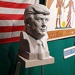 Serie of art works dedicated to #DonaldTrump / #exhibition #art #Trump #sculpture #paiting #marble #arte #maga #TrumpTrain #artist #shmatko https://t.co/QJRkzipA0A