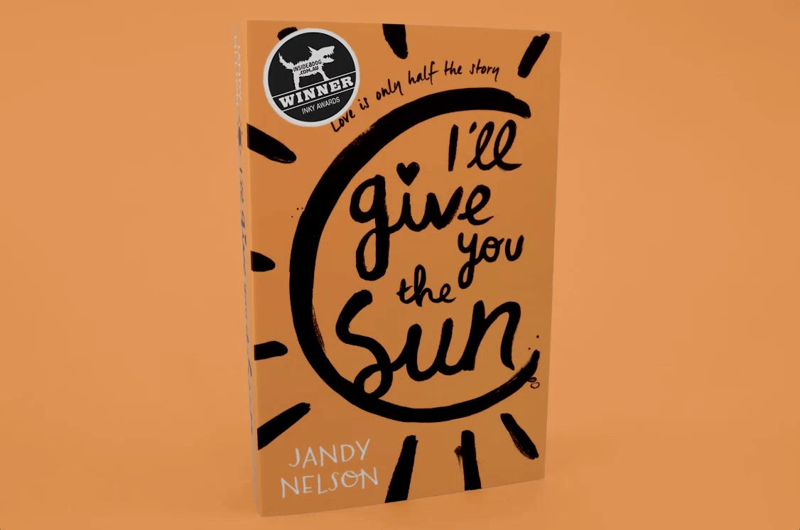 Congratulations @jandynelson! I'll Give You the Sun wins the Silver Inky Award! 2016 #InkyAwards @InsideaDog