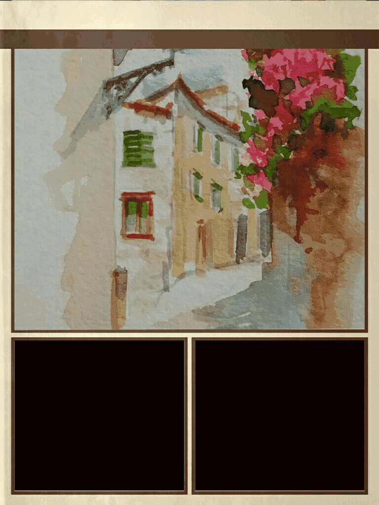 Color inspiration using a #painting my sister had done for me by a street #artist in #Italy. https://t.co/ki4QWIoLWU