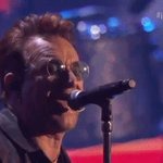 DESIRE! @U2 is rocking the crowd silly to close the night! #iHeartFestival https://t.co/F5WMFDHkCP