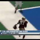 16 years ago today, Terrell Owens celebrated his TD right on the Cowboys mid-field star logo #Savage https://t.co/16BIQNIAZy