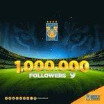 RT: ¡Gracias a todos ustedes llegamos a un millón de seguidores en Twitter! #SomosTigres #SoyTigre #TigresTwitteros https://t.co/9HzufYlG4z