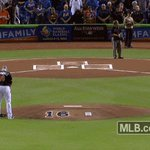 Eight @Marlins surround José's mound for the national anthem. Eight @Marlins. No pitcher. #JDF16 https://t.co/ucHLb2M81G