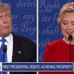 Donald Trump has interrupted Hillary Clinton 12 times so far during #DebateNight https://t.co/nBG6hRMuV1
