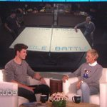 .@ShawnMendes told me what it feels like to lose to me at ping pong. https://t.co/AxKkbkxc7S https://t.co/cIQ3W0jLOf