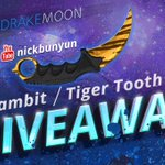 We have got a new gleam GA with @nickbunyun. RT for Karambit / Tiger Tooth (FN) https://t.co/PQ1uhUJlFZ https://t.co/7FAyanUGqO