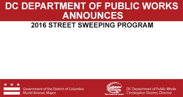 We would like to remind residents that the Street Sweeping Program ends October 31, 2016. https://t.co/s8BXVR4q05