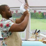 An addition to baking, Selasi also offers hair perming services in the tent... #BotanicalWeek #GBBO https://t.co/A7JKZT35Wz