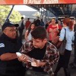 Seguranças do Metrô deixam local de trabalho e apreendem panfletos de Haddad https://t.co/m524RzvhAI https://t.co/xhqZGFKUPw