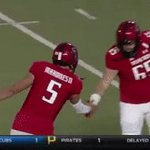 Patrick Mahomes II has accounted for at least 4 total first-half TDs in every game this season. #WreckEm https://t.co/hUkYPiUkPV