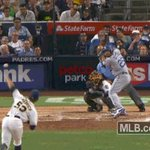 First MLB triple in the books for @robsegedin25! 👏 https://t.co/3cUn9huF3V