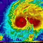 BREAKING: Hurricane Matthew now sustaining winds of 150 MPH, 7 MPH away from category 5 status. https://t.co/agMDi7rW6T