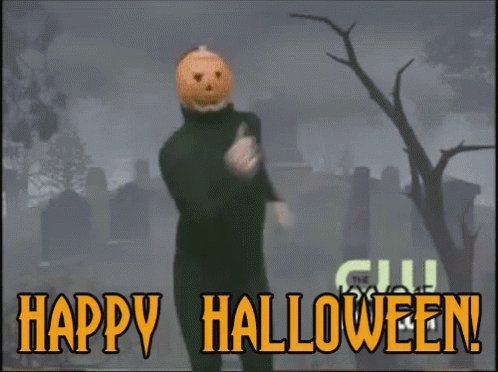 We shall have to catch up very soon, Twitter Buddies. In the meantime, HAPPY FREAKING OCTOBER 1!!!! 🎃🎃🎃🎃