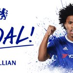 GOAL!!! Willian!!! #CFCLive https://t.co/U660oQgrTs