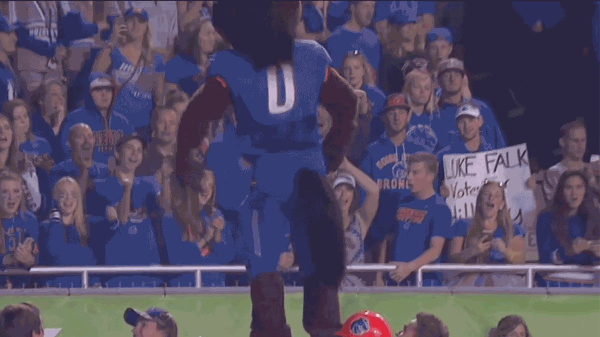 #19 @BroncoSportsFB is now the only FBS team remaining this season yet to trail in a game. #mwfb https://t.co/caIRxOMt7F