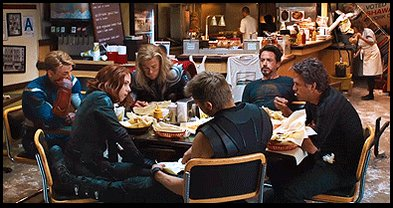 Shawarma is delicious.   It's the official post-victory meal of the Avengers.  #MuslimsReportStuff https://t.co/QuP3i3XIww