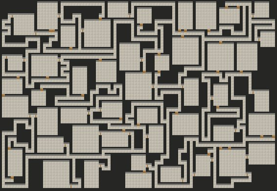 Hypnotic procedural dungeon generation is hypnotic. https://t.co/VCULfNcaqb https://t.co/dtP9LCqXzH