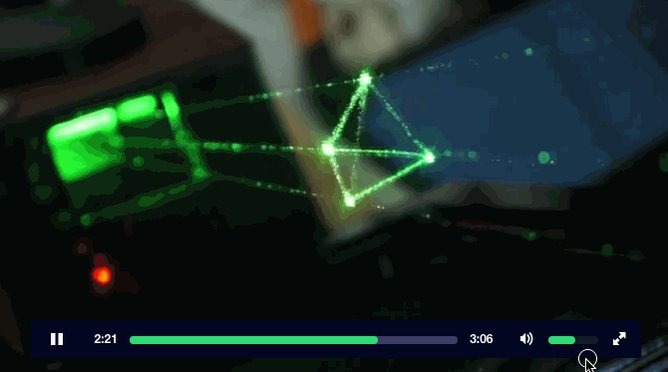 PRETTY AWESOME: A true holographic vector display <3 <3 https://t.co/tbfn2mrdSq CC: @xponential @lexaloffle https://t.co/YHjDXUBKlw