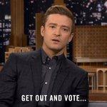 On the importance of voting... and pizza. #JTonFallon https://t.co/h575SjGftQ https://t.co/0cIZmdFwQO